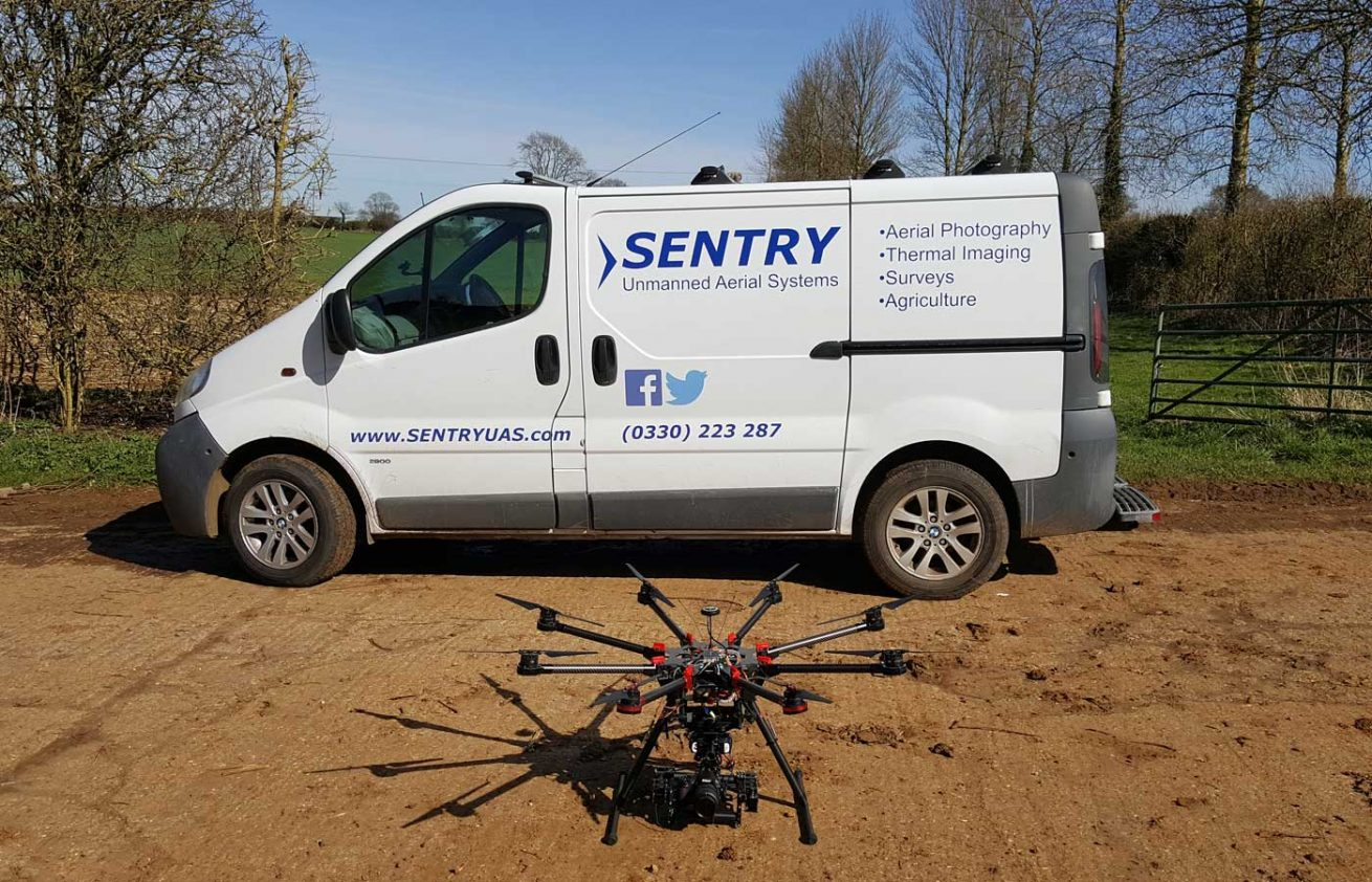 Sentry UAS and drone for agriculture farm survey