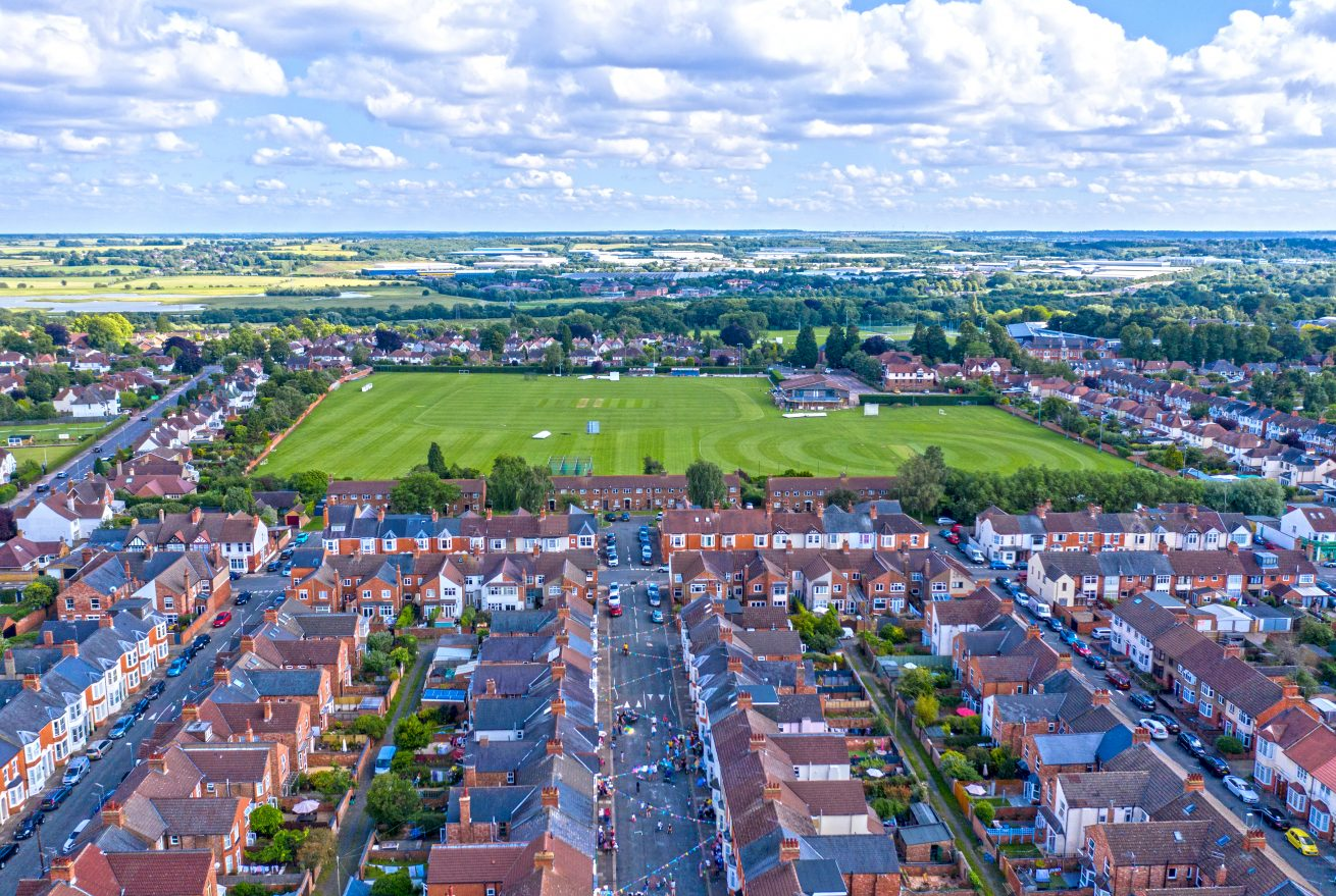 ons ground aerial photo northampton